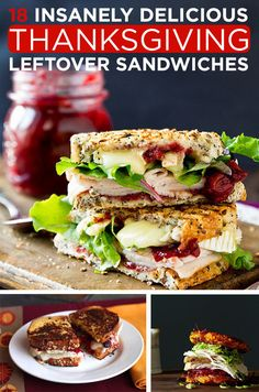 18 Sandwiches To Be Thankful For