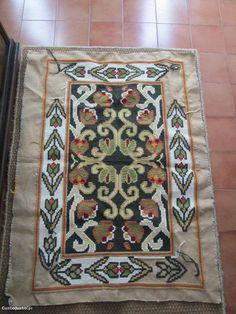 tapete de Arraiolos inacabado - à venda - Têxteis lar & Utilidades, Braga - CustoJusto.pt