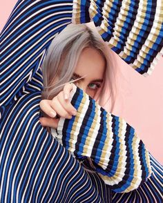 In the lead-up to Billie Eilish returning to Australia and New Zealand for Laneway Festival at the end of this month, everyone's favourite features in a new editorial for the January 2018 issue of InStyle Australia magazine. Billie Eilish, Amy, Ft Tumblr, Foto Fashion, Celine Dion, Pretty People, Amazing People, Jennifer Lopez, Blake Lively