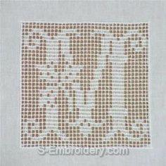 FILET CROCHET ALPHABET PATTERNS - Crochet and Knitting Patterns