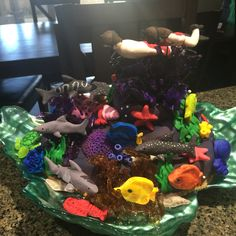 Scuba diving Coral Reef Cake