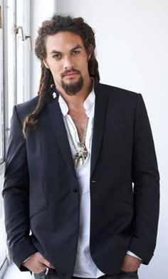 Jason Momoa is Khal Drogo. Beautiful.