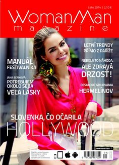 Vydanie časopisu WomanMan magazine Leto/Léto/Summer 2014