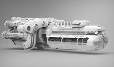 'Spaceship', Samith Vishminna on ArtStation at https://artstation.com/artwork/spaceship-e35ad0e7-42fe-4164-8a2b-d5d09fbd5d62
