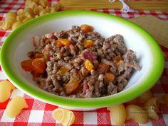 Ragù bianco ; ricetta ragù di carne dal blog : cuochepercaso (reInventando In Cucina)