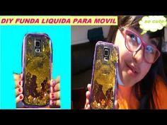 Como hacer FUNDAS LIQUIDAS PARA MOVIL   DIY funda liquida para celular - YouTube