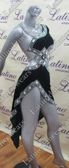 LATIN SALSA COMPETITION DRESS LDW (LT743) LATIN-SALSA-COMPETITION-DRESS-LDW-LT743 Latino Dancewears