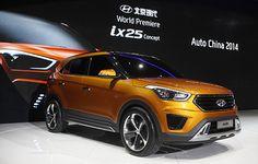 Meet the new Hyundai IX25 concept model!
