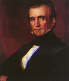 James K. Polk was born in North Carolina on November 2,1795. In 1825 he entered the House of Representatives, where he served for 14 years.    He was elected to the Presidency in 1844. During his term, major issues included the boundary with Canada in the far Northwest and the Mexican War.
