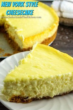 New York Style Cheesecake is a creamy sinfully delicious cheesecake that will give your mouth pure pleasure with each bite.  You will love this sinful recipe on my blog. via @SeductionRecipe