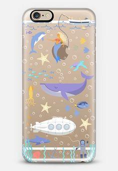 Under the sea, mermaid, whale and delphine underwater adventures. iPhone 6s Case by Marta Olga Klara | Casetify