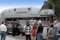 Custom food truck designs can be mild to wild! This is the Maximus Minimus food truck that is designed to look like a giant steel pig.