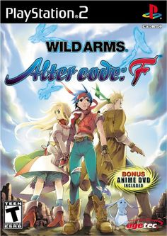 Wild Arms Alter Code F Sony Playstation 2 used video game available for sale. Video Game Show, Video Game Books, Video Games, Playstation 2, Alt Codes, Gaming Wallpapers Hd, Drawing Games For Kids, F Video, Anime Dubbed
