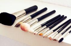 MAC brushes.