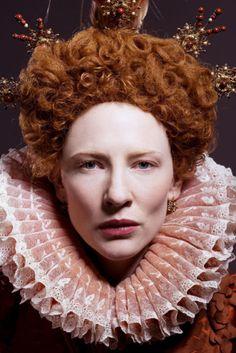 "Cate Blanchett as Elizbeth I, in ""Elizabeth the Golden Age."""