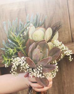 succulent diy bouquet