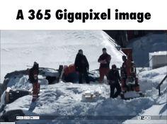 A 365 Gigapixel image