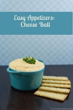 An easy appetizer using imperial cheese & cream cheese. A tasty spread for crackers, or celery. #easyappetizers #partyfood