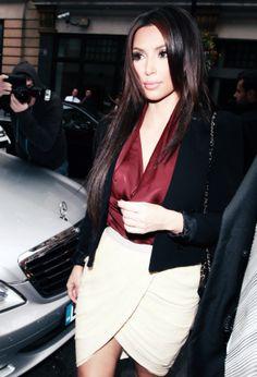 Kim Kardashian looks really pretty here