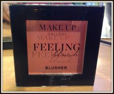 Glitz and Glamour Makeup: Get glowing with Make Up Gallery Feeling Blush Blusher in Candyfloss Pink #makeupgallery #poundland #beautyonabudget