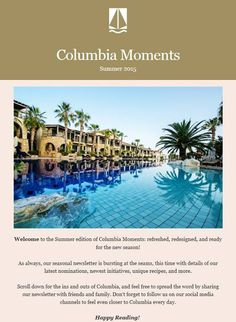 Did you miss out on Columbia Moments' Summer Edition? Fret not: sign up for our mailing list (at the bottom of our webpage: www.columbiaresort.com) and receive all of our latest #news, #special #offers, and more :) #LoveColumbia #PissouriBay