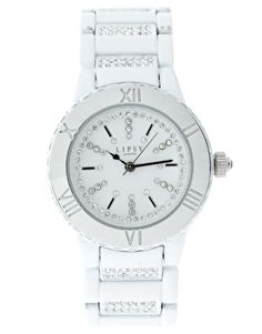 Lipsy White Watch