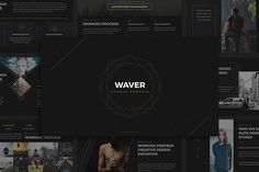 Waver Powerpoint Template @creativework247