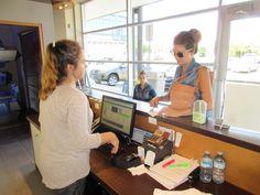customer scene