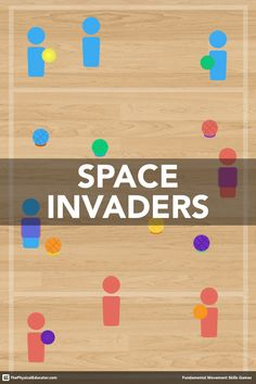 Invaders is one of my students favourite games and one of the most effective activities I use to help students master the critical elements of underhand throwing. Check out the game video to see how I bake instruction and assessment into the activity. Pe Activities, Team Building Activities, Activity Games, Physical Activities, Abc Games, Movement Activities, Pe Games Elementary, Elementary Physical Education, Elementary Schools