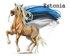 Horse Hetalia: Estonia by MUSONART
