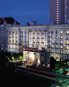 Fairmont Hotel - Where C and I got married