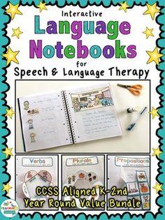 Interactive Language Notebooks (Value Bundle) by teachingtalking.com