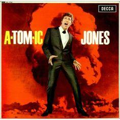 A-Tom-Ic Jones-Tom Jones Decca record album cover.