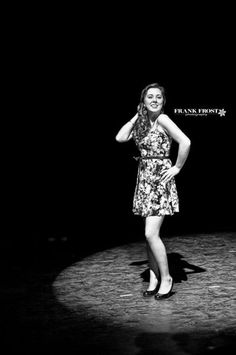 Senior Picture / Photo / Portrait Idea - Theater / Drama / Stage - Performer