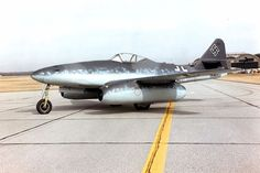 Messerschmitt Me 262A at the National Museum of the United States Air Force. (U.S. Air Force photo).  This was the first operational jet fighter in the world.    Luckily for the allies, they came too late and too few to swing the balance for the Luftwaffe.