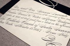 Cecilia and Victor Wedding Invitation