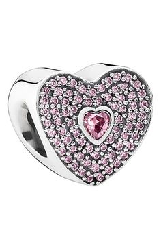 PANDORA Boxed Valentine's Day Heart Bead Charm available at #Nordstrom #PANDORAvalentinescontest