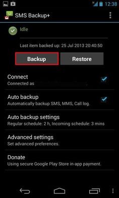 How To Backup Your Text Messages To Gmail Using SMS Backup+ For Android