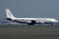 airlines special | Cameroon Airlines, B707 beim Line-up – by Hans Gläser (afm-news.de)