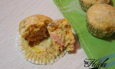 Muffins salados | Las mejores recetas de Huga #recetas #muffins #buenprovecho