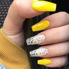 Best Summer Nails - 45 Hot Summer Nails - FavNailArt.com