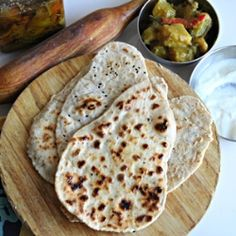 Gluten-Free Naan - I'm going to have to try making this!
