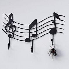 'Music Hook' Metal Wall Art - Sears
