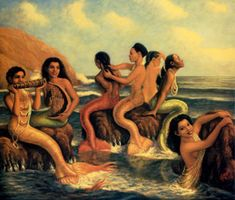 Mermaids On Canary Islands