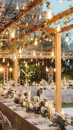Wedding Night, Wedding Ceremony, Dream Wedding, Garden Wedding, Wedding Reception Ideas, Winter Wedding Receptions, Wedding Scene, Wedding Backyard, Wedding Rings