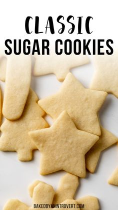 Best Sugar Cookies, Sugar Cookies Recipe, No Bake Cookies, Yummy Cookies, No Bake Cake, Baking Recipes, Cookie Recipes, Dessert Recipes, Christmas Cooking