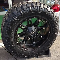 20x10 Fuel Hostage D531 Black - 35x12.50r20 Nitto Trail Grappler