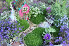A fairy garden! I think @Stefanie Newcomb will have this made in a few days.