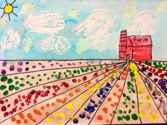First Grade Farm Landscapes