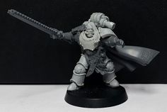 Gunnar Gunnhilt, Wolf Lord and 1st Captain of the VIth Legion. Throughout the Crusade and Heresy era, Gunnar Gunnhilt supported and helped lead the Vlka Fenryka under Primarch Leman Russ. Commanding the First Great Company, he witnessed the Edict of Nikea and fought during the Razing of Prospero.